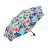 桐花疊影金屬漆自動折傘 客家文化 桐花圖案設計 1