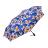 桐花疊影金屬漆自動折傘 客家文化 桐花圖案設計 2
