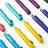極細 亮面金屬漆鋼筆傘 摺疊雨傘 精品時尚配件 防曬抗風 (7色可選) 3