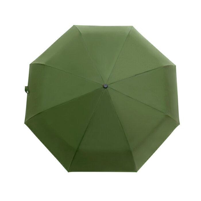 深金屬漆自動折傘 皮雕傘頭 一甩即乾 男士傘 3