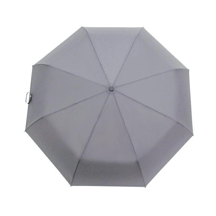 深金屬漆自動折傘 皮雕傘頭 一甩即乾 男士傘 2