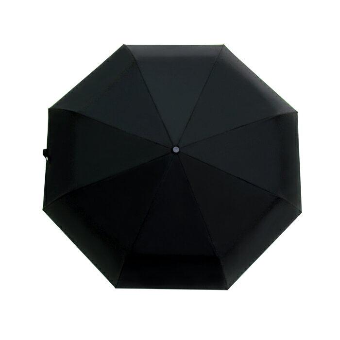 深金屬漆自動折傘 皮雕傘頭 一甩即乾 男士傘 5