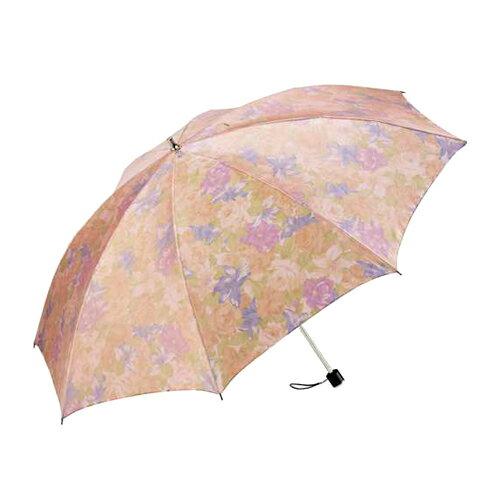 暖花沙丁布二折式傘 0