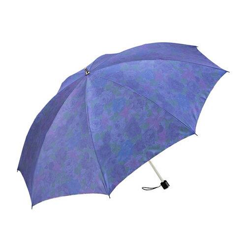 暖花沙丁布二折式傘 2