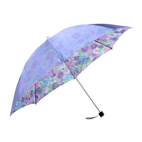 暖花沙丁布二折式傘 3