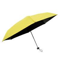 防曬抗UV陽傘到極短 全遮光黑膠五折傘 手開折傘 口袋傘 抗UV 遮光傘 防曬傘 180g就在Prolla 保羅拉推薦防曬抗UV陽傘