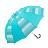 條紋點點雙色自動直傘 可愛俏皮風格 大傘面自動開收 2
