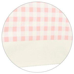 日本最愛 粉紅格子灰膠遮光折傘 187g 7