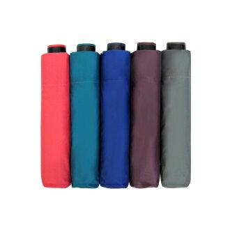超遮光黑膠素面折傘 193g (粉 / 藍 / 綠 / 紫 / 灰) 1