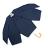 印花點點花瓣手開直傘 特殊花瓣傘面造型 文創商品 3