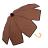 印花點點花瓣手開直傘 特殊花瓣傘面造型 文創商品 2