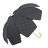 印花點點花瓣手開直傘 特殊花瓣傘面造型 文創商品 4