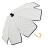 印花點點花瓣手開直傘 特殊花瓣傘面造型 文創商品 1