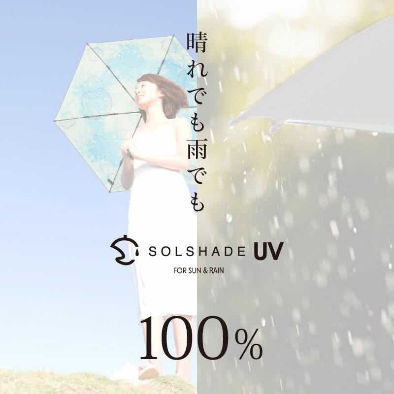 日本 雙骨全遮光玫瑰傘 防曬遮光 優雅晴雨兩用傘 4