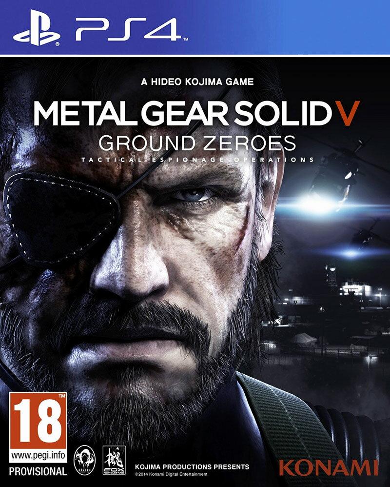 PS4 潛龍諜影5:原爆點(含獨佔Deja Vu任務) 英日文版 MGS Ground Zeroes
