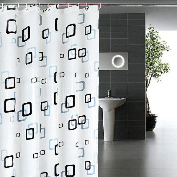 Loxin☆加厚PEVA 浴室防水浴簾 【SA0543】180*200cm 浴簾/門簾/衛浴用品
