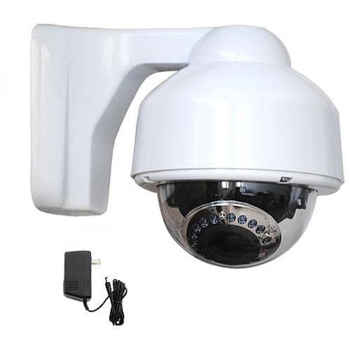 VideoSecu CCTV Vari-focal Color CCD Infrared Night Vision Outdoor Surveillance Camera with Power 1M6 0