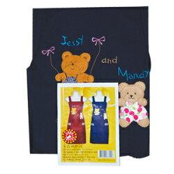 熊貼布圍裙(GS532) 隨機