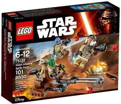 【LEGO 樂高積木】星際大戰系列 - Rebel Alliance Battle Pack LT-75133