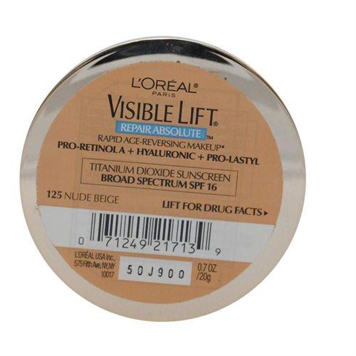 L'OREAL VISIBLE LIFT RAPID AGE-REVERSING MAKEUP #125 NUDE BEIGE 87a3848b937cf3abe4dbb22c324d9420