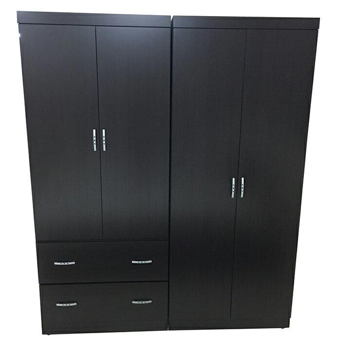 【尚品家具】K-642-09 胡桃5尺衣櫥~另有白橡色/衣櫃/櫥櫃/衣櫥/收納櫃/衣物整理櫃/Wardrobe