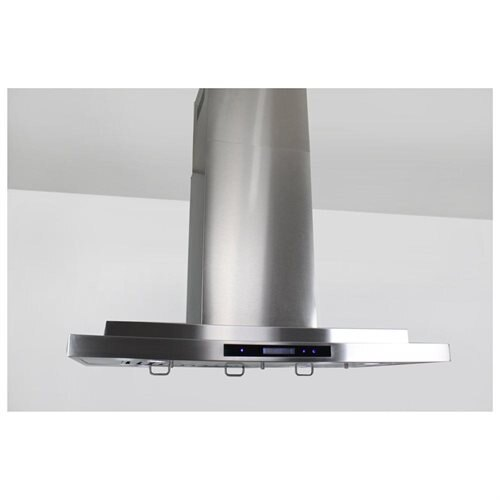 "AKDY New 36"" European Style Island Mount Stainless Steel Range Hood Vent Touch Control AK-GL9011-36 3"