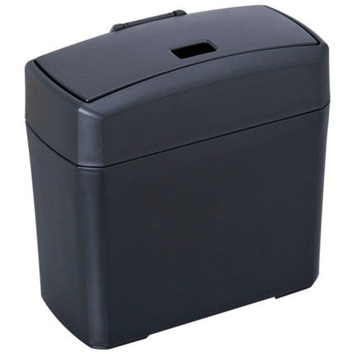 權世界@汽車用品 日本 SEIWA 車用 兩種掀蓋式 垃圾桶 置物桶 W653