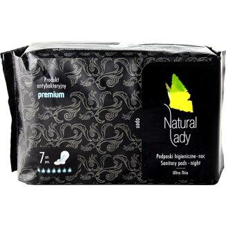 Natural Lady漢方草本 衛生棉 夜用 32..5cm 7片