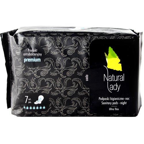 來易購:NaturalLady漢方草本衛生棉夜用32..5cm7片