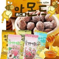 Toms 蜂蜜 草莓奶茶 堅果 海苔 巧克力 韓國