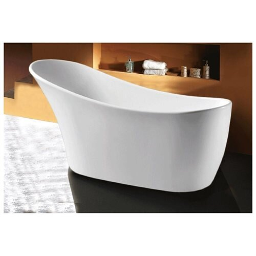 AKDY Bathroom White Color Freestanding Acrylic Bathtub AK-F278 0