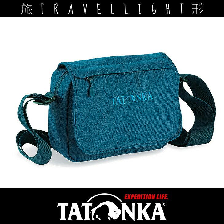 ~Tatonka~Cavalier 2L 斜背隨身包 TTK2234 藍色 Travell