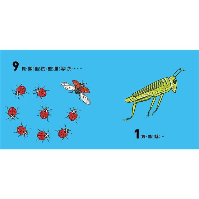 驚奇的動物數學課:幼兒第一套數字與度量概念趣味認知繪本 3
