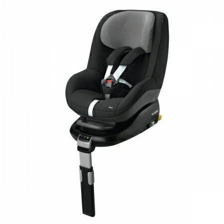 【淘氣寶寶】2016年最新 荷蘭 Maxi-Cosi Pearl 汽車安全座椅【條紋黑】+ Maxi-cosi FamilyFix 智慧型汽座底座 組合