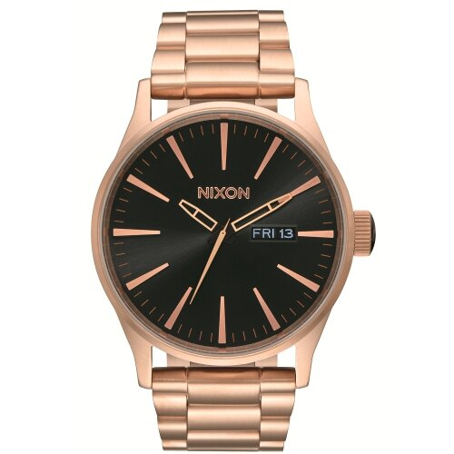 NIXON 玫瑰金時尚潮流腕錶/A356-1932