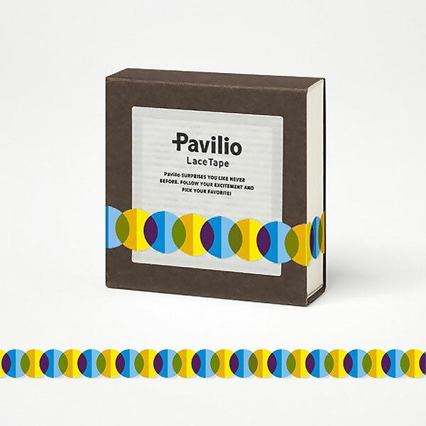 【日本Pavilio】風格膠帶MINI系列F-MI02PB藍巴斯特捲