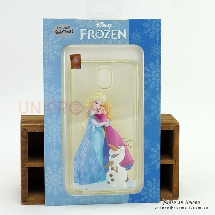 【UNIPRO】Samsung Note3 迪士尼 冰雪奇緣 FROZEN 艾莎 安娜 雪寶 TPU 手機殼 保護套 N900