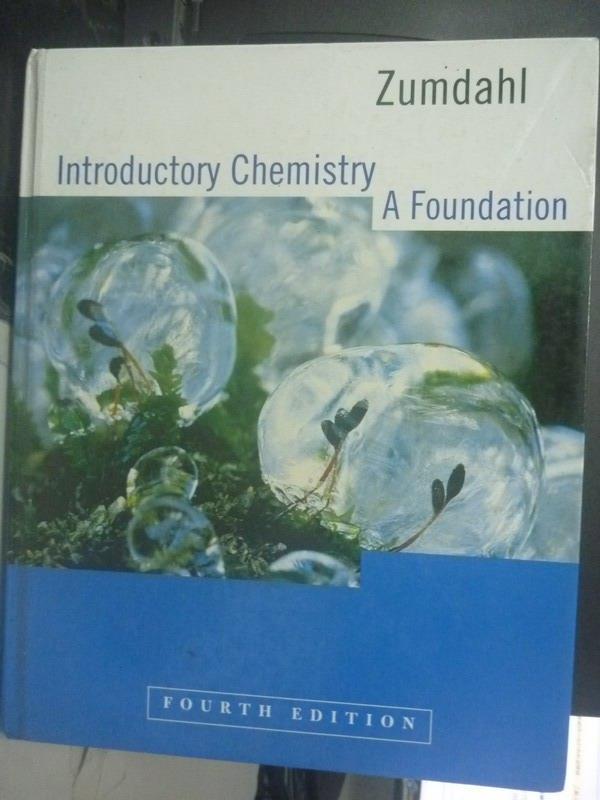 【書寶 書T3/大學理工醫_XGI】Introductory Chemistry:A Foundation4 e