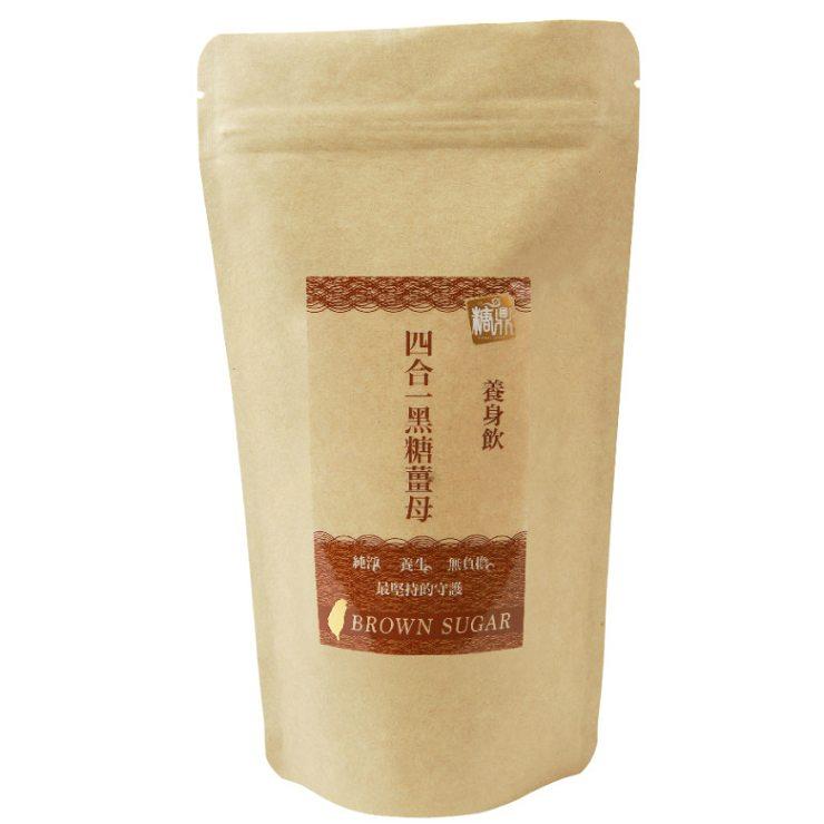 【糖鼎養生鋪】四合一黑糖薑母茶磚-輕巧包(35克x8顆獨立包裝)