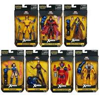 Marvel 玩具與電玩推薦到(卡司 正版現貨) Marvel legends 6吋 X戰警 X-MEN 金鋼狼 靈蝶 萬磁王 7+1 (BAF 天啟 天啓)就在卡司玩具推薦Marvel 玩具與電玩