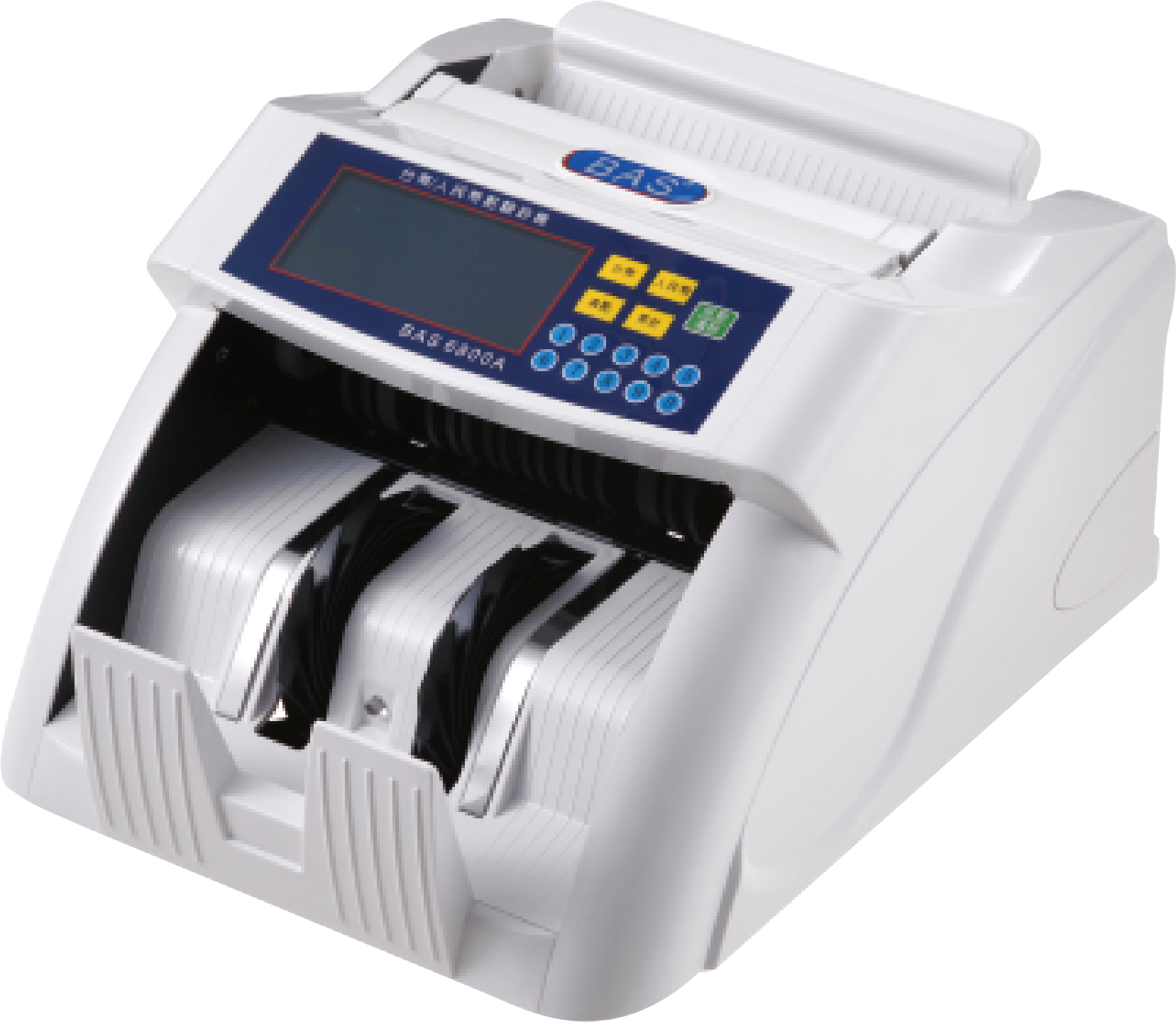 《事務機器》 全自動點驗鈔機 點鈔機 驗鈔機 BAS 6800A (台幣、人民幣)[自動數鈔/記憶模式/警示裝置/故障顯示] S735