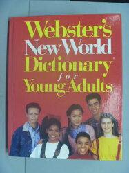 【書寶二手書T2/字典_ZDB】Webster's New World Dictionary for Young Adu