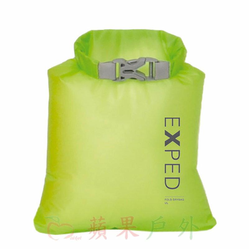【【蘋果戶外】】Exped 20101510 瑞士 Fold Drybag UL 1L 防水袋 XXS 泛舟溯溪打包袋