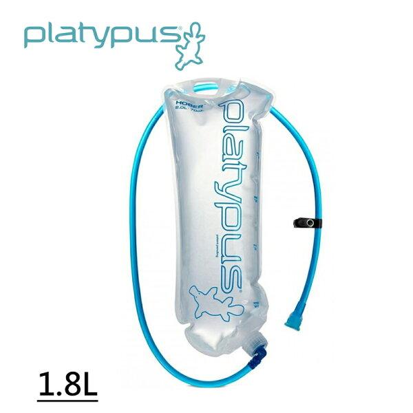 【露營趣】Platypus鴨嘴獸07024Hoser吸管水袋1.8L登山水袋自行車水袋儲水袋蓄水袋摺疊水袋登山露營野營
