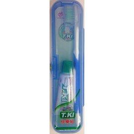 T.KI 鐵齒蜂膠旅行組 含蜂膠牙膏+牙刷+收納盒★愛康介護★