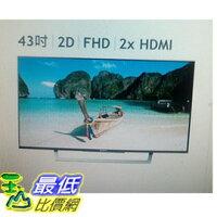 SONY 索尼推薦到[COSCO代購 如果沒搶到鄭重道歉] SONY 43吋 LED 液晶電視 KDL-43W750 _W112108