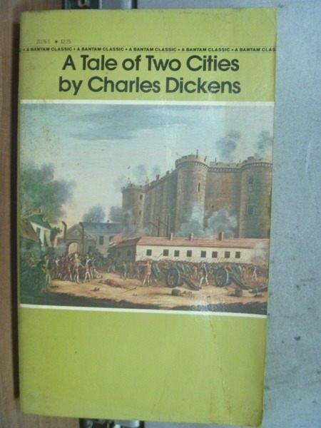 【書寶二手書T6/原文小說_MQP】A Tale of Two Cities_Charles Diskens