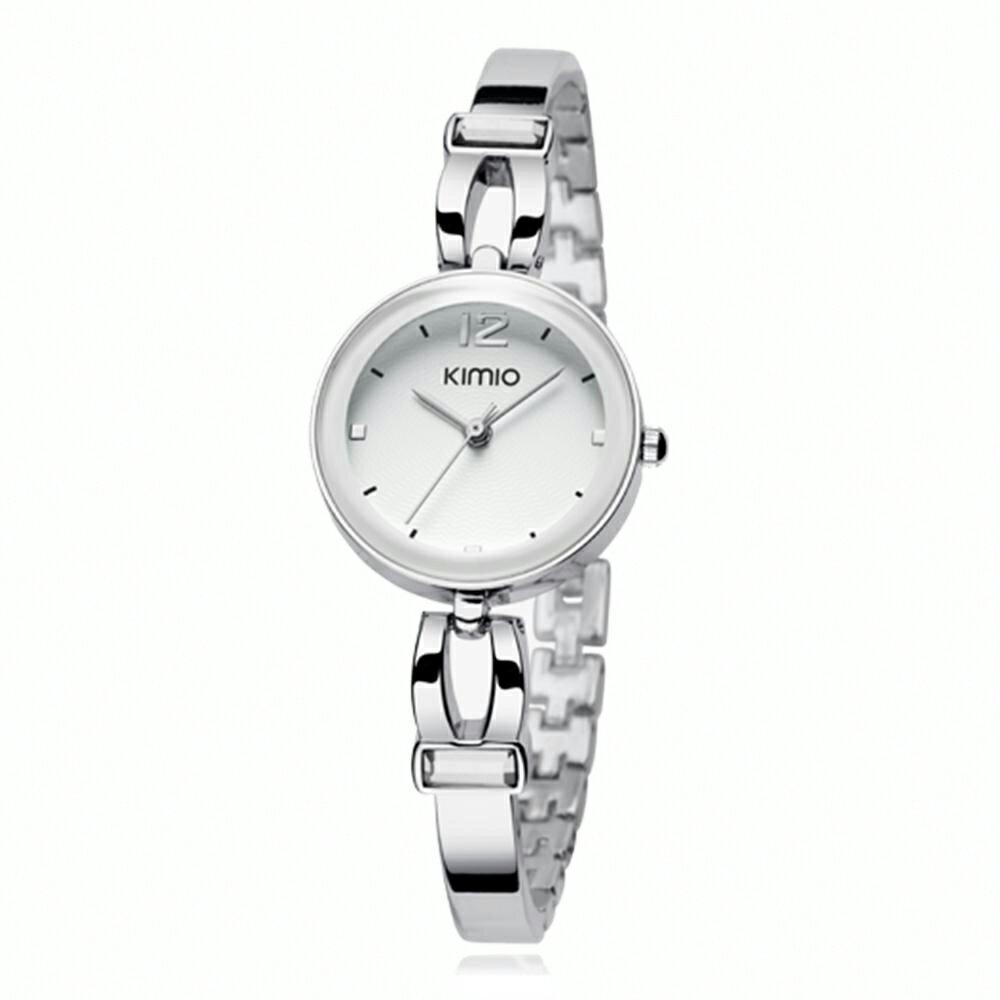 KIMIO 金米歐 K-466 簡約時尚氣質百搭圓款手鍊女錶 5
