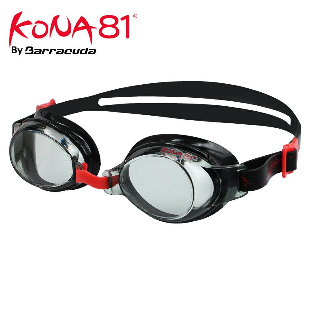 美國巴洛酷達Barracuda KONA81三鐵度數泳鏡K713 【鐵人三項近視專用】 - 限時優惠好康折扣