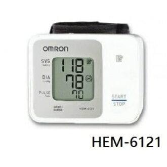 ★杰米家電☆ 歐姆龍OMRON HEM-6121上臂/手腕式血壓計 請來電諮詢(網路不販售)來電價格詢問價格